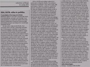 Delo-SDH, DUTB, ETIKA, POLITIKA in upravljanje-JM-aaa